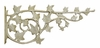 Whitehall Ivy Nature Hook - French Bronze