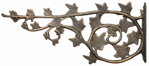 Whitehall Ivy Nature Hook - Oil Rub Bronze