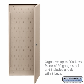Salsbury 1010 Key Cabinet With (2) Keys