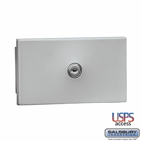 Salsbury 1090AU Key Keeper Recessed Mounted Aluminum Finish USPS Access