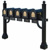 Keystone Eagle Pentad Deluxe Multi-Mount Mailbox Post (Mailboxes not included)