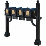 Quad Mount Mailbox Systems