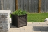 Lakeland Patio Planter 20 x 20 - Espresso