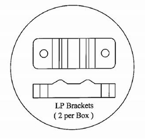 Light Pole Brackets (only)