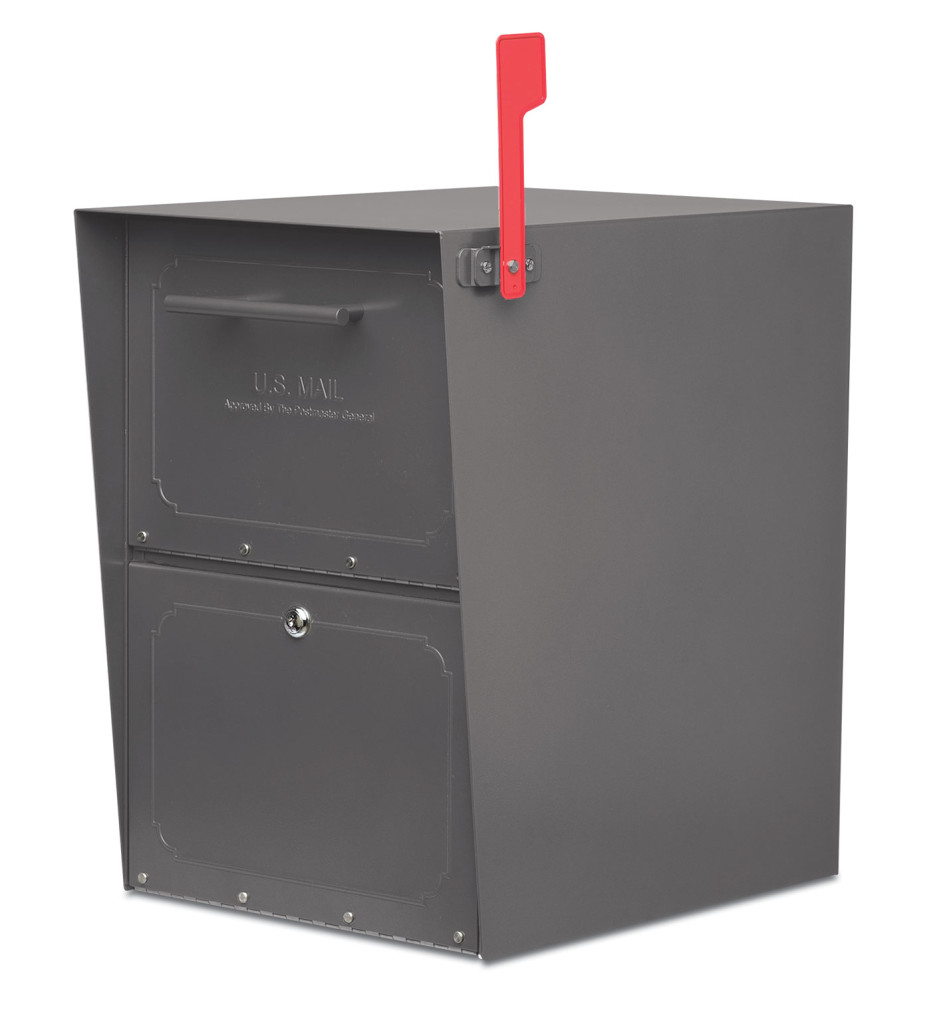 Oasis Full Size Locking Curbside Mailbox Architectural