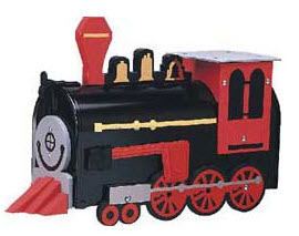Locomotive Novelty Mailbox