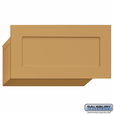 Salsbury 2255BRS Mail Drop - Brass
