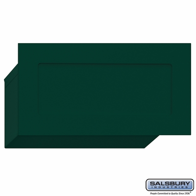 Salsbury 2255GRN Mail Drop - Green