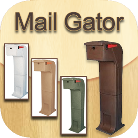 mail gator mail safe locking impact resistant mailboxes - Locking Mailboxes