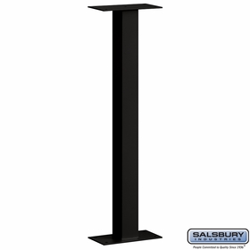 Salsbury 4765BLK Mail House Post Bolt Mounted Black