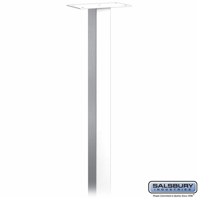 Salsbury 4795WHT Mail House Post In Ground Mounted White