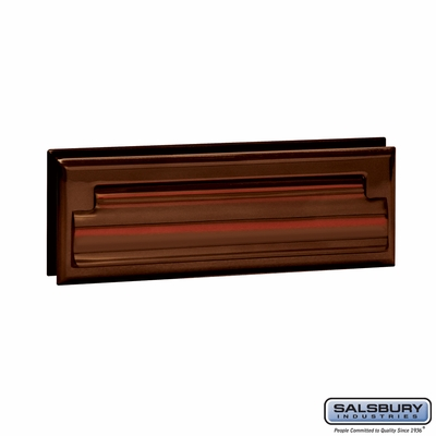 Salsbury 4035A Mail Slot Standard Letter Size Antique Finish