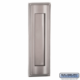 Salsbury 4085C Mail Slot Vertical Chrome Finish