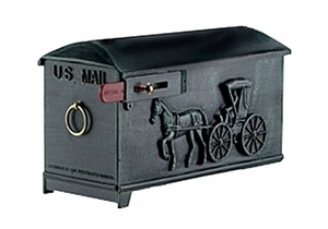 Imperial Mailbox 7 - Horse (mailbox only)