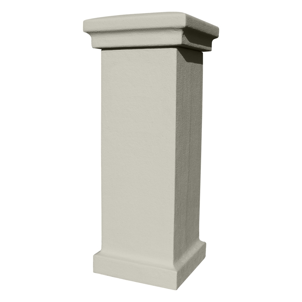 Qualarc manchester security locking stucco column for Stucco columns