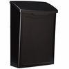 Marina Powder-Coated Steel Wall-Mount Mailbox (Choose Color)