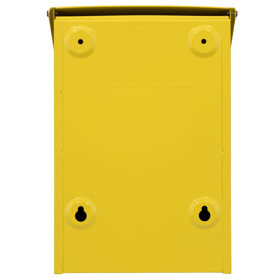 Architectural Mailboxes | Marina Powder-Coated Steel Wall-Mount ...