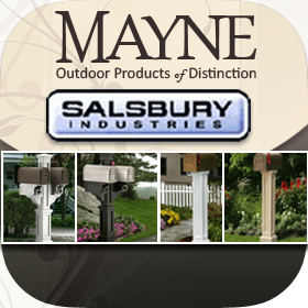 Mayne & Salsbury Mailbox & Post Package