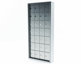 Recess Mounted Mini Storage Lockers