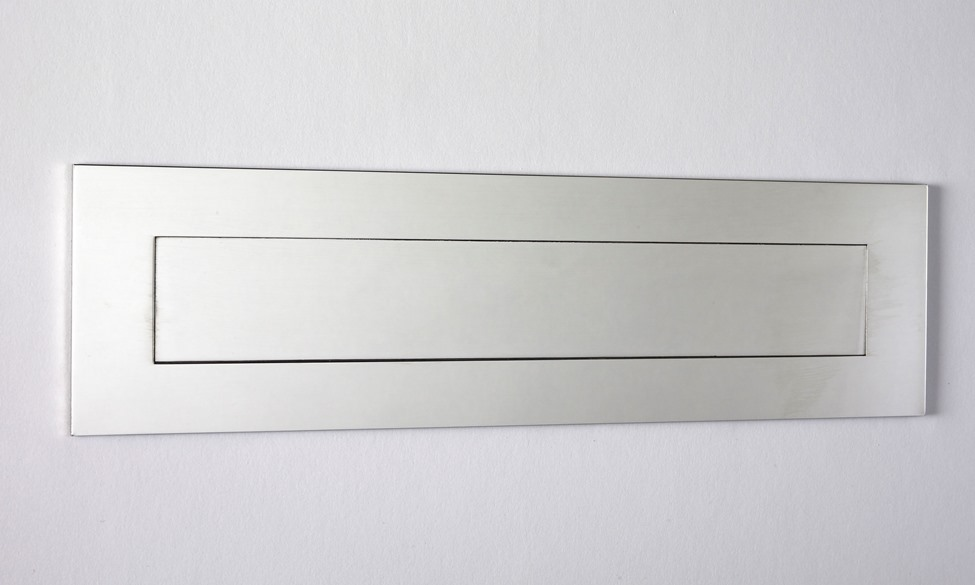 Mirror Polished Stainless Steel Contemporary Door Mail Slot (small) 11.8\  ... & European Home | Mirror Polished Stainless Steel Contemporary Door ...