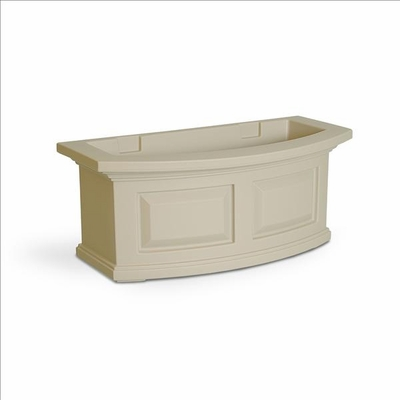 Nantucket 2Ft Wide Window Flower Box - Clay