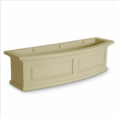 Nantucket 3Ft Wide Window Flower Box - Clay