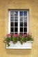Nantucket 3Ft Wide Window Flower Box - White