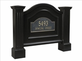 Nantucket Address Sign in Black (address plaque sold separately)