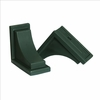 Nantucket Decorative Brckts Green (2pk)