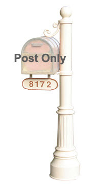 Newport-Lg Mailbox Post (post only)