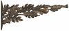 Whitehall Oakleaf Nature Hook - Oil Rub Bronze