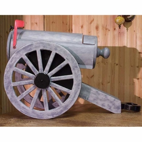 OBJECTS - Cannon Mailbox