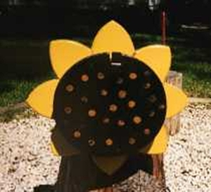 OBJECTS - Sunflower Mailbox
