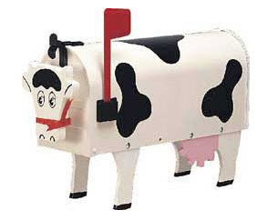 Original Cow Novelty Mailbox