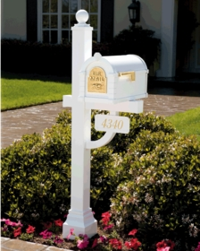 Gaines Mailboxes & Address Plaques