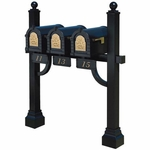 Triple Mount Mailbox Systems