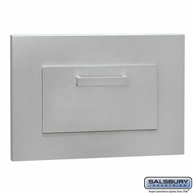 Salsbury 4955ALM Parcel Book Drop Aluminum Finish