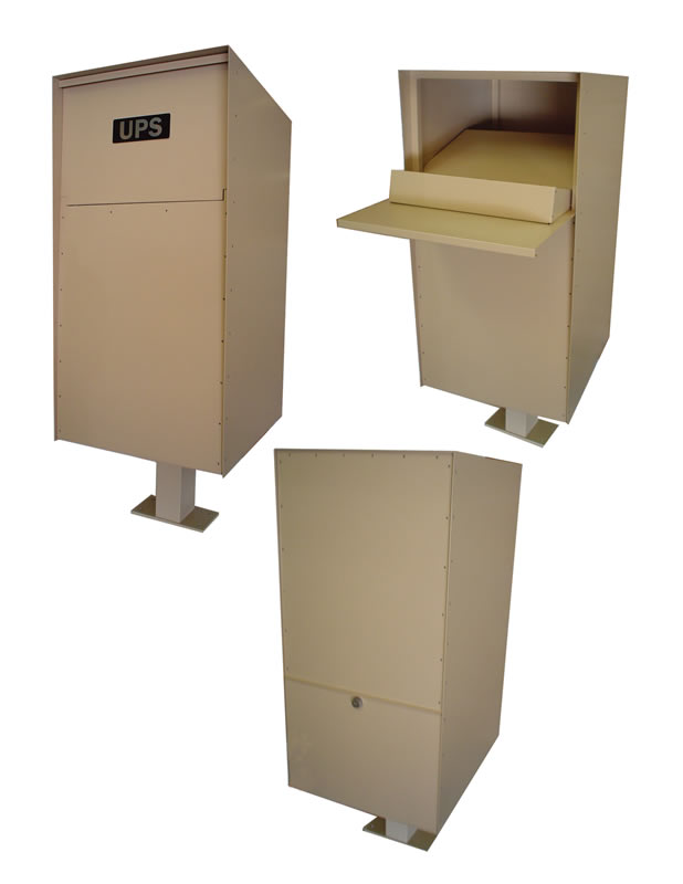 jayco industries parcel drop box aluminum commercial. Black Bedroom Furniture Sets. Home Design Ideas