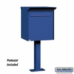 Salsbury Industries Pedestal Dropbox Jumbo (Letters Only)
