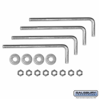 Salsbury 3394 Mounting Kit for Cluster Mailbox Pedestals