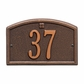 Petite Size Cape Charles Wall Plaque - (1 Line)