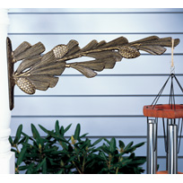 Whitehall Pinecone Nature Hook - Oil Rub Bronze