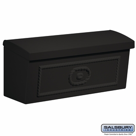 Salsbury 4560BLK Townhouse Mailbox Surface Mounted Black