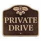 Whitehall Private Drive Lawn/Wall Plaque