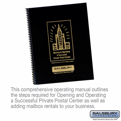 Salsbury 1000 Private Postal Center Operating Manual
