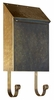 Provincial Collection Brass Mailboxes (vertical) in Antique Hammered Brass