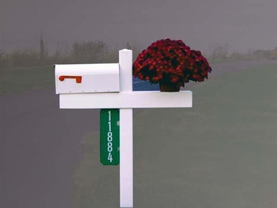 Handy Post Double - Double Wide Mailbox Post