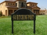 """Aluminum Lawn Stakes (per pair) 1"""" wide x 18"""" long, Black only"""