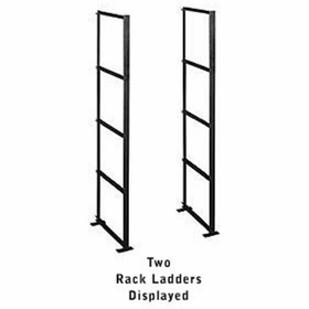 Salsbury 2400C4 Rack Ladder Custom For Data Distribution Aluminum Boxes 4 High