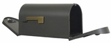 Rear Access Curbside Mailbox with Post Options